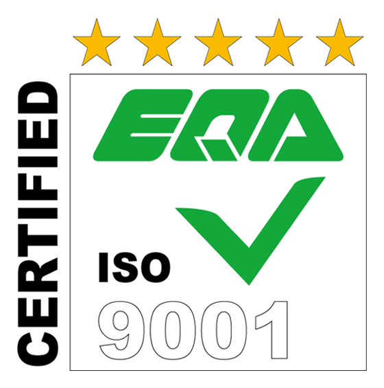 EQA ISO9001 CERTIFIED