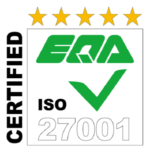 EQA ISO27001 CERTIFIED